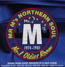Mr M's Northern Soul: Wigan Casino No.1 Oldies Room, 3 CDs