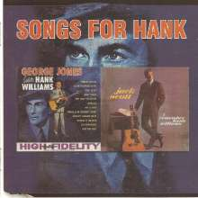 George Jones & Jack Scott: Songs For Hank / I Remember Hank Williams (Remastered 2 On 1 Edition), CD