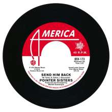 """The Pointer Sisters & The Drifters: Send Him Back/You Got To Pay Your Dues, Single 7"""""""