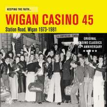 Keeping The Faith...Wigan Casino 45: Station Road, Wigan 1973-1981, LP