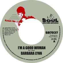 "Barbara Lynn: I'm A Good Woman/I Don't Want A Playboy, Single 7"""