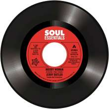 """Jerry Butler: Moody Woman / Stop Steppin' On My Dreams, Single 7"""""""