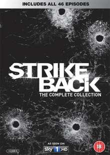Strike Back Season 1-5 (Complete Collection) (UK Import), 14 DVDs
