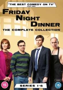 Friday Night Dinner Season 1-6 (UK Import), 6 DVDs