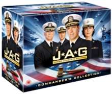 JAG Season 1-10 (Complete Collection) (UK Import mit deutscher Tonspur), 54 DVDs