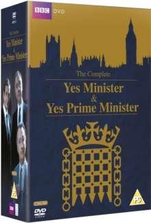 Yes Minister + Yes Prime Minister (UK Import), 7 DVDs