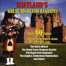 Scotland's Great Highland Bagpipes, CD