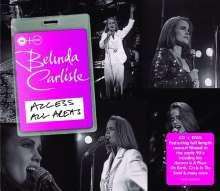 Belinda Carlisle: Access All Areas (CD + DVD), 1 CD und 1 DVD