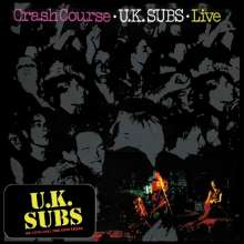 UK Subs: Crash Course (180g) (Deluxe-Edition) (Red Vinyl), LP