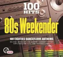 100 Hits: 80's Weekender, 5 CDs