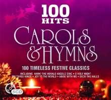100 Hits: Carols & Hymns, 5 CDs
