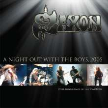 Saxon: A Night Out With The Boys Tour 2005 (25th Anniversary) (180g) (Gold Vinyl), 2 LPs