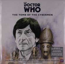 Filmmusik: Doctor Who: The Tomb Of The Cybermen (180g) (Silver Vinyl), 2 LPs