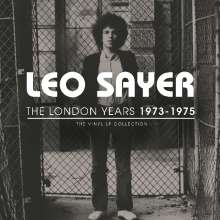 Leo Sayer: The London Years 1973-1975 (180g) (Limited Numbered Edition) (Translucent Vinyl), 3 LPs
