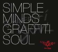 Simple Minds: Graffiti Soul (180g) (Red Vinyl) (+2 Bonustracks), LP