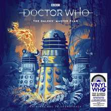 Filmmusik: Doctor Who: The Daleks' Master Plan (180g) (Limited-Edition-Box) (Translucent Blue Vinyl), 7 LPs