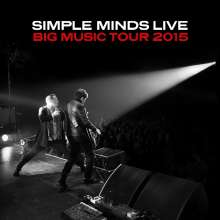 Simple Minds: Big Music Tour 2015 (180g) (White Vinyl), 2 LPs