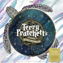 Terry Pratchett: Terry Pratchett's Vinyl Discworld: Seven BBC Radio Full-Cast Dramatisations (180g) (Box Set) (Swirled Vinyl), 15 LPs