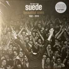 The London Suede (Suede): The Best Of Suede: Beautiful Ones 1992 - 2018 (180g) (Limited Edition) (Clear Vinyl), 2 LPs