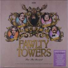 Filmmusik: Fawlty Towers: For The Record (Limited Signed Edition Box) (White Vinyl), 6 LPs
