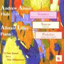 Andrew Anson,Flöte, CD