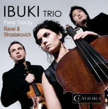 Ibuki Trio - Piano Trios by Ravel & Schostakowitsch, DVD-Audio