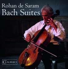 Johann Sebastian Bach (1685-1750): Cellosuiten BWV 1007-1012, Blu-ray Audio