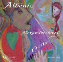 Isaac Albeniz (1860-1909): Iberia (Klavierfassung) Vol.1, DVD-Audio