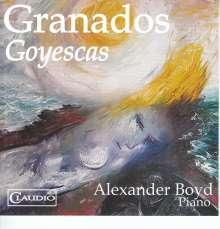 Enrique Granados (1867-1916): Goyescas, Blu-ray Audio