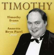 Timothy Evans: Timothy, CD