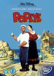Popeye (1980) (UK Import mit deutscher Tonspur), DVD