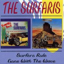 The Surfaris: Surfers Rule / Gone With The Wave, 2 CDs