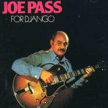 Joe Pass (1929-1994): For Django, CD