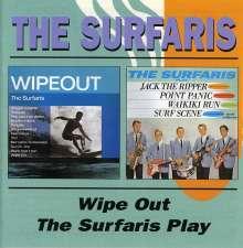 The Surfaris: Wipeout / Surfaris Play, CD