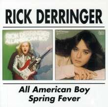 Rick Derringer: All American Boy / Spring Fever, CD
