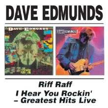 Dave Edmunds: Riff Raff / I Hear You Rockin' (Live), CD