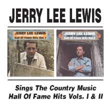 Jerry Lee Lewis: Sings The Country Music / Hall Of Fame Hits Vols. I & II, CD