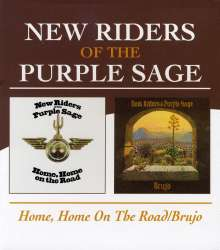 New Riders Of The Purple Sage: Home, Home On The Road / Brujo, CD