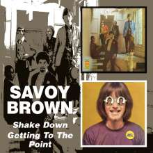 Savoy Brown: Shake Down / Getting To The Point, 2 CDs