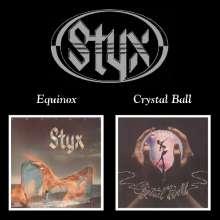 Styx: Equinox / Crystal Ball, CD