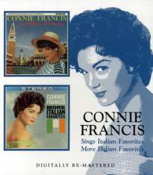 Connie Francis: Sings Italian Favorites / More Ital., CD