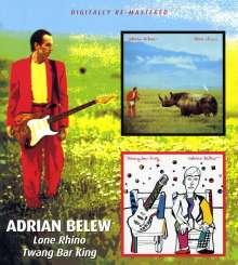 Adrian Belew: Lone Rhino / Twang Bar King, CD