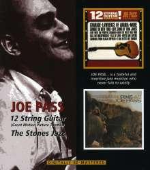 Joe Pass (1929-1994): The Stones Jazz / 12 String Guitar, CD