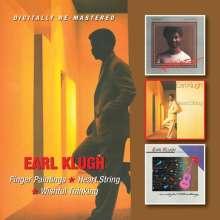 Earl Klugh (geb. 1954): Finger Paintings / Heart String / Wishful Thinking, 2 CDs