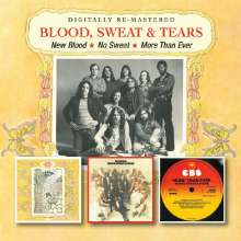 Blood, Sweat & Tears: New Blood / No Sweat / More Than Ever, 2 CDs