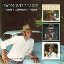 Don Williams: Visions/Expressions/Portrait, 2 CDs