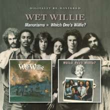 Wet Willie: Manorisms / Which One's Willie?, CD