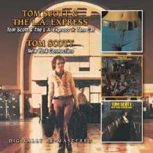 Tom Scott (geb. 1948): Tom Scott And The L.A. Express / Tom Cat / New York Connection, 2 CDs