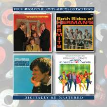 Herman's Hermits: Herman's Hermits/Both Sides Of Herman's Hermits/There's A Kind Of.../Mrs Brown, You've Got...., 2 CDs