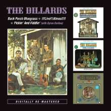 The Dillards: Back Porch Bluegrass / !!! Live !!! Almost !!! / Pickin' And Fiddlin', 2 CDs
